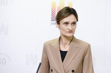 Liberalų sąjūdžio pirmininke perrinkta V. Čmilytė-Nielsen