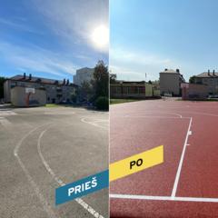 Tauragės mieste ir rajone atnaujintos 5 sporto aikštelės