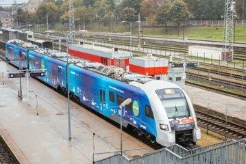 Išskirtinė pramoga šeštadienį: mobili paroda traukinyje
