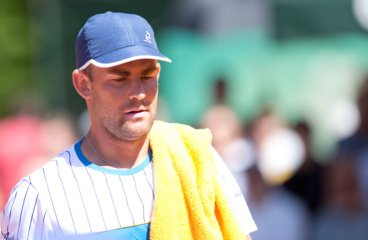 Tenisininkas Laurynas Grigelis paskelbė apie karjeros pabaigą