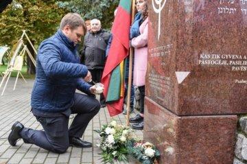 Panevėžyje paminėtas Holokausto 80-metis