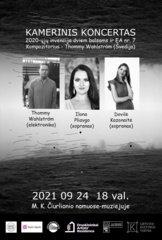 M. K. Čiurlionio namuose skambės lietuvių liaudies dainų inspiruotas švedų kompozitoriaus kūrinys