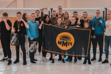 Po ilgos pertraukos Šiauliuose surengtos MMA varžybos