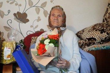 Devyniasdešimtmečio proga pasveikinta Marija Leopa