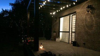 Kaip turi atrodyti terasos apšvietimas?