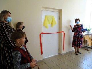 Mosėdžio gimnazijoje JAV lietuvių ir vietos žmonių aukomis įrengta moderni specialiųjų ugdymosi poreikių turintiems vaikams skirta klasė