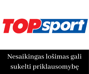 Topsport lazybos internete