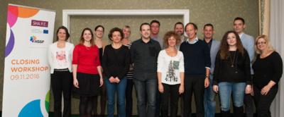 Su projekto partneriais (KTU nuotr.)