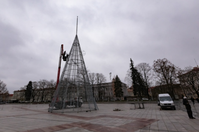 Vilniaus Katedros aikštė. Gedimino Bartuškos (ELTA) nuotr.