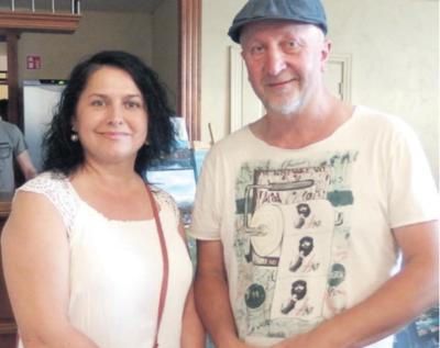 Profesinis pokalbis: J. Danielė ir ukrainietis dailininkas S. Garkovyj