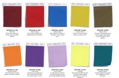 Pantone.com spalvų gama