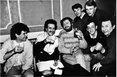 """""""Mums šis susitikimas buvo iš fantastikos srities"""", – pripažįsta Kęstutis, prisiminęs beveik prieš trisdešimt metų Kauno sporto halėje Pasvalio grupės """"Laiptai"""" ir legendinės škotų roko grupės """"Nazareth"""" susitikimą."""