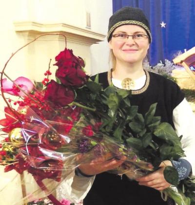 Kultūros premijos laureatė Jurgita Treinytė.