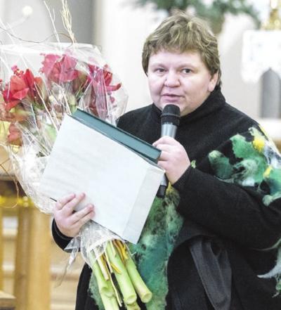 """""""Pirmiausiai norėčiau padėkoti savo tėčiui"""", - sakė Kultūros premijos laureatė Nijolė Kriugždaitė."""