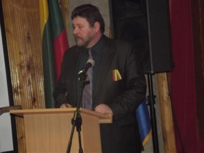 Elektrėnų savivaldybės tarybos nario Rimanto-Edvardo Sabučio sveikinimo žodžiai Kazokiškių bendruomenei