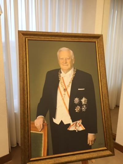 Prezidento Algirdo Brazausko salė