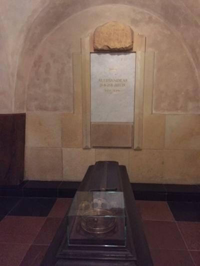 Kunigaikščio Aleksandro Jogailaičio palaidojimo vieta