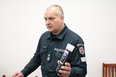 Robertas Radavičius pristatė naujausią alkoholio matuoklį