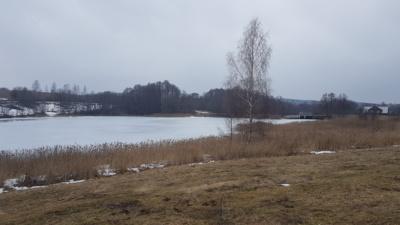Žvilgsnis į kairiąją Semeliškių miestelio pusę