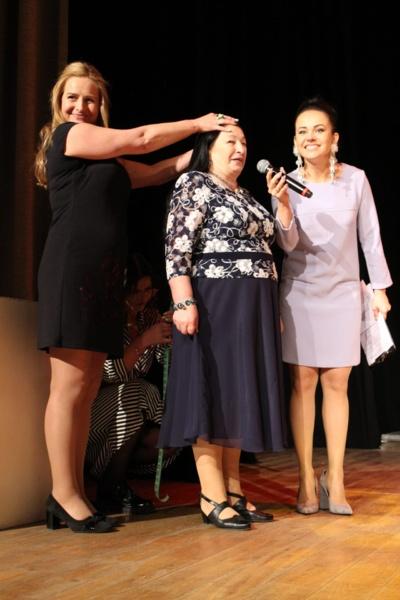 Vyriausia ilgakasė Valentina Verbickienė