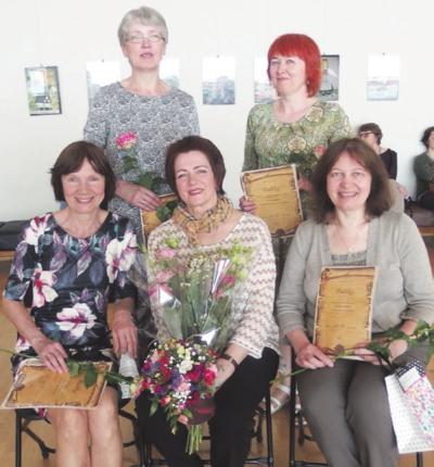 Į jubiliejinę – dešimtmečio – finišo tiesiąją išėjusios tekstilininkės.