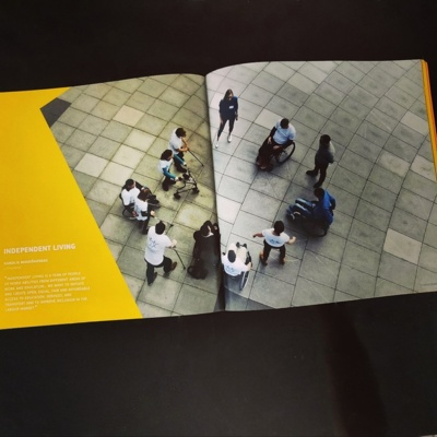 """Įvertinimas. Donatas kartu su grupe dalyvavo Europos fotografijų konkurse """"Savarankiškas gyvenimas"""". Ši nuotrauka pelnė III-ąją vietą. (Donato Počešiūno asmeninio archyvo nuotr.)"""