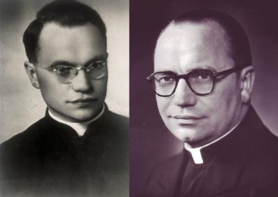 Atmintis. Jonas Borevičius SJ gimė 1906 m. gruodžio 6 d.  Alytuje, mirė 1989 m. rugpjūčio 23 d. Čikagoje, JAV. Šiauliuose jis dirbo 1942–1944 metais. (Mečislovo Borevičiaus asmeninio archyvo nuotr.)