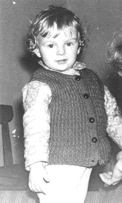 Ž. Gelgota vaikystėje (asmeninio archyvo nuotr.)