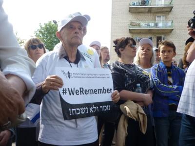 Į sekmadienį vykusius renginius iš Izraelio buvo atvykęs ir buvęs Šiaulių geto kalinys Arye Šilanskis, Izraelio Kneseto buvusio pirmininko Dovo Šilanskio (1924–2010) brolis.