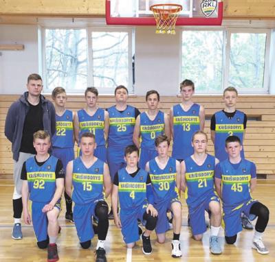 Berniukų, gimusių 2004-2005 metais, krepšinio komanda.