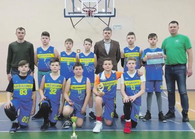 Berniukų, gimusių 2006-2007 metais, krepšinio komanda.