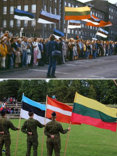 Fotografuokime! Šiaulių rajono žmonės kviečiami nepamiršti Baltijos kelio akimirkų įamžinti nuotraukose– jos taps svarbia istorine medžiaga. (Etaplius.lt archyvo ir E. Varkalienės nuotr.)