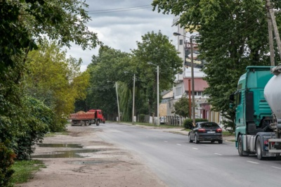 Intensyviu sunkiasvorio ir lengvojo transporto eismu pasižyminčią H. ir O. Minkovskių gatvę planuojama platinti / R. Tenio nuotr.