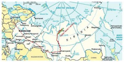 Keliautojai punktyrais nužymėjo pasirinktą maršrutą.