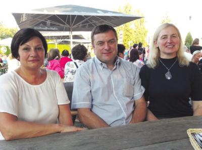 Organizatoriai: D. Radvilienė, M. Vaicekauskas ir jo sutuoktinė Asta.