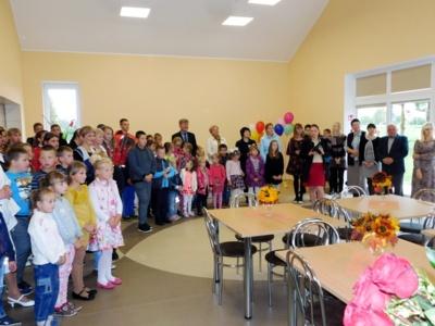Tik 2017 m. atidaryta Barskūnų mokyklos valgykla