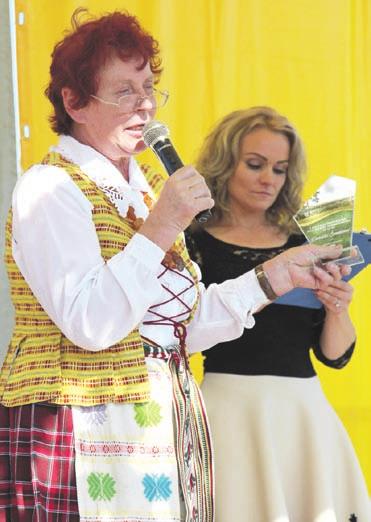 Apdovanojimai D. Švedienė.