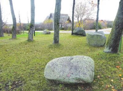 Pasak šeimininko, jam akmenys primena senovę ir pagonybę.