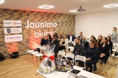 Jaunimo biuro atidarymo šventės svečiai