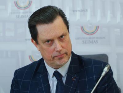 Seimo narys Vytautas Juozapaitis. Dainiaus Labučio (ELTA) nuotr.