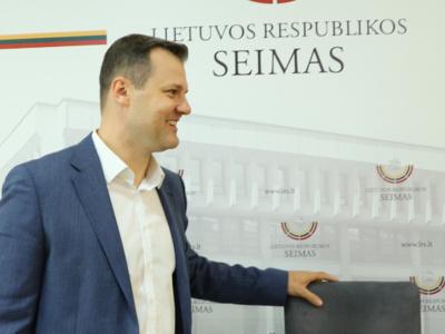 LSDP pirmininkas Gintautas Paluckas. Dainiaus Labučio (ELTA) nuotr.