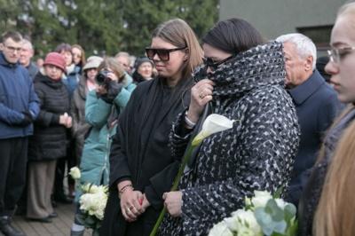 Druskininkuose laidojamas Vitalijus Cololo / BNS nuotr.