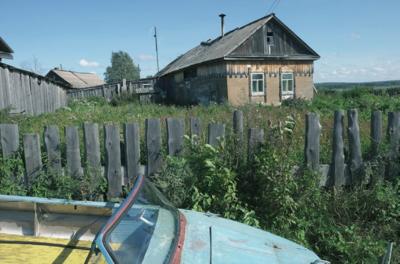 Nuo Pakertų kaimo kilusios tremtinės Vansevičienės sodyba Jarceve.