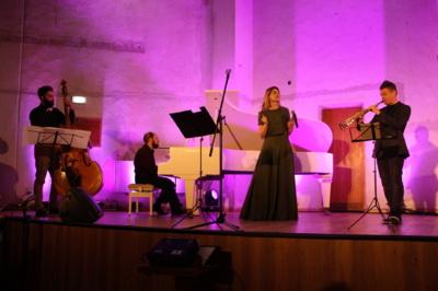 Džiazo kvarteto koncerto akimirka. Rūtos Jaruševičienės nuotr.