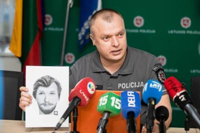 Ieškomo asmens fotorobotas / J. Stacevičiaus/LRT nuotr.