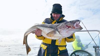Didžiausias Petro Norvegijoje pagautas laimikis – 20 kg 200 g menkė.