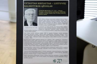 Proga. Knyga išleista, pasitinkant profesoriaus Vytauto Sirtauto 100-ąsias gimimo metines.