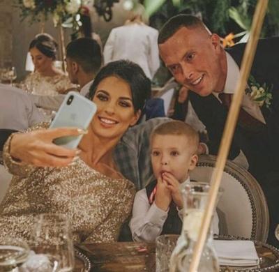 Dovilė Kilty su šeima (Asmeninio archyvo nuotr.)