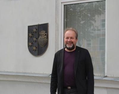 J. Kiriliauskas šypteli – gausumu Kuršėnų šaulių būryje mokytojams prilygo nebent siuvėjo profesijos atstovai. (Autorės nuotr.)