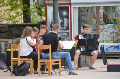 Gatvės muzikos diena Šiauliuose